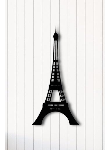 Angemiel Home Paris Metal Duvar Tablosu Siyah